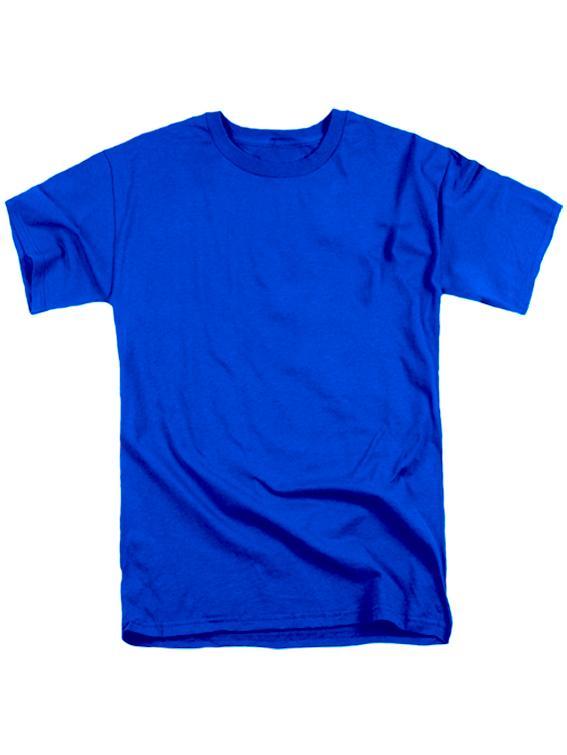 Футболка мужская синяя
