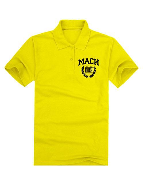 Футболка поло МАСИ желтая