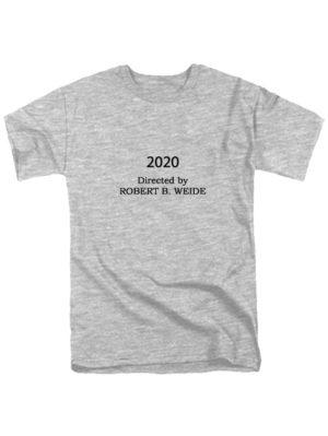 Футболка 2020 Directed by серая