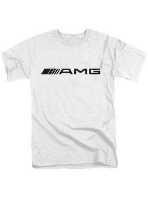 Футболка AMG белая