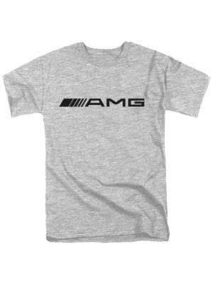 Футболка AMG серая