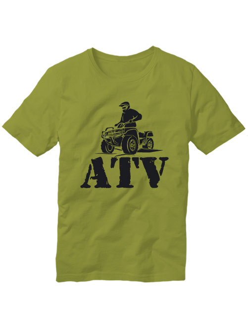 Футболка ATV оливковая