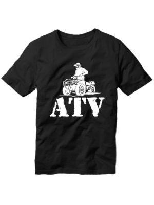 Футболка ATV черная