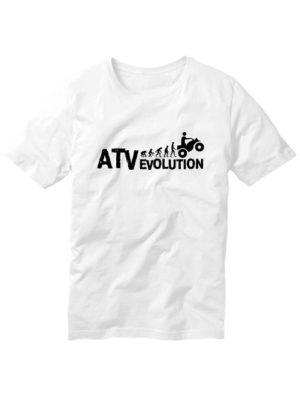 Футболка ATV evolution белая