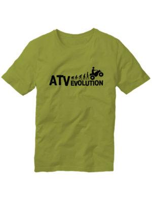 Футболка ATV evolution оливковая