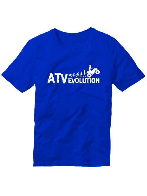 Футболка ATV evolution синяя