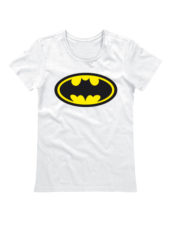 Футболка Batman женская белая