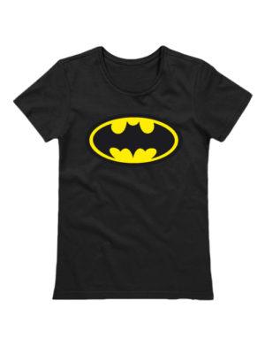 Футболка Batman женская черная