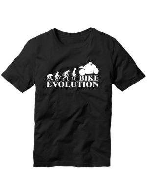 Футболка Bike evolution черная