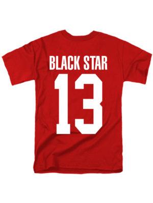 Футболка Black Star 13 красная