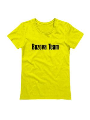 Футболка Buzova Team желтая