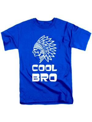 Футболка Cool bro синяя
