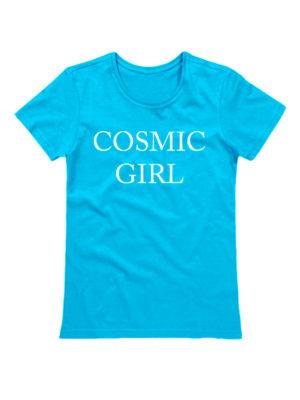 Футболка Cosmic girl голубая