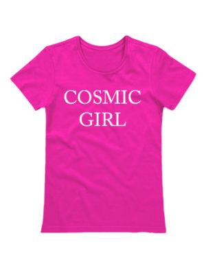 Футболка Cosmic girl розовая