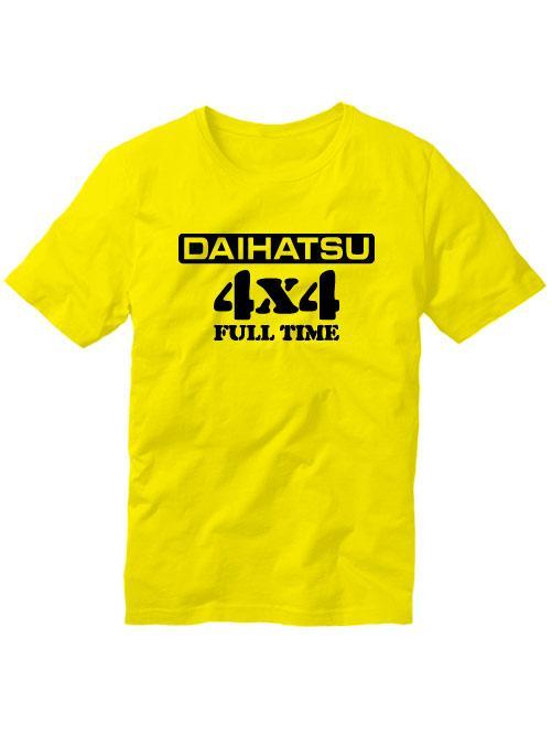 Футболка Daihatsu желтая