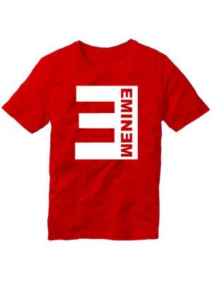 Футболка Eminem красная