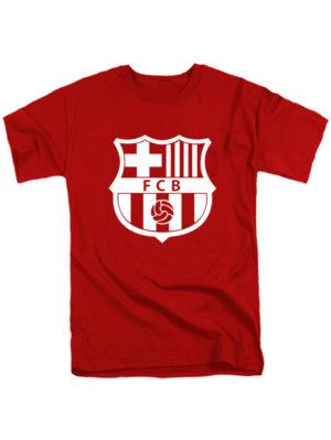 Футболка FC Barcelona красная