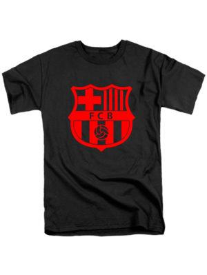 Футболка FC Barcelona черная
