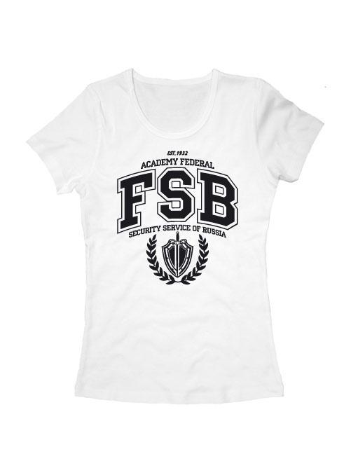 Футболка FSB Academy женская белая
