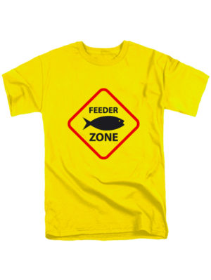 Футболка Feeder zone желтая