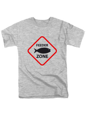 Футболка Feeder zone серая
