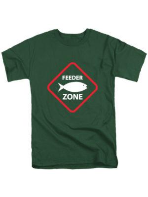 Футболка Feeder zone темно зеленая