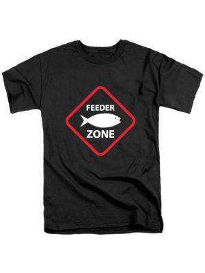 Футболка Feeder zone черная