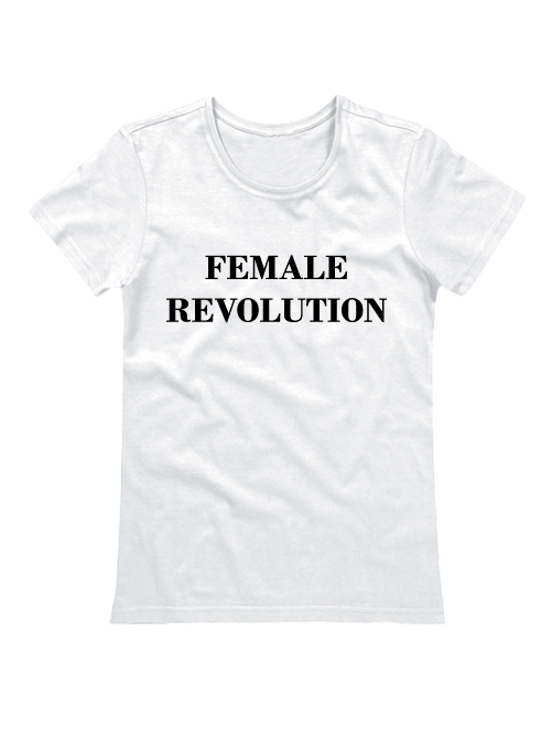 Футболка Female revolution белая