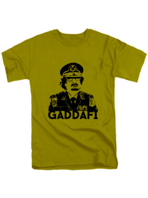 Футболка Gaddafi оливковая