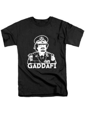 Футболка Gaddafi черная