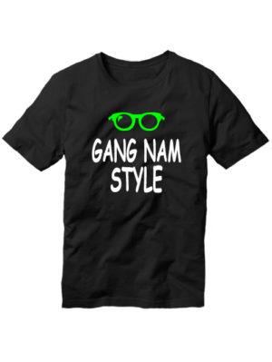 Футболка Gangnam style мужская черная