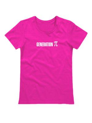 Футболка Generation P женская розовая