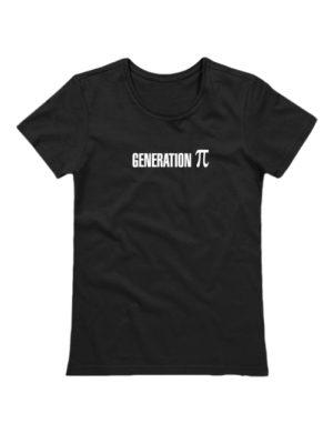 Футболка Generation P женская черная