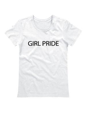 Футболка Girl pride белая