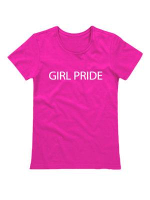 Футболка Girl pride розовая