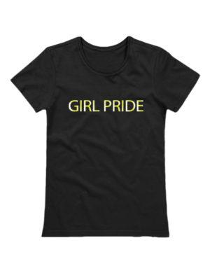 Футболка Girl pride черная