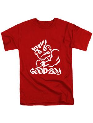 Футболка Good boy красная