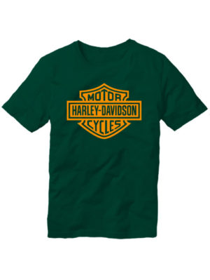 Футболка Harley-Davidson темно зеленая