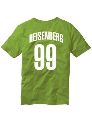 Футболка Heisenberg 99 оливковая