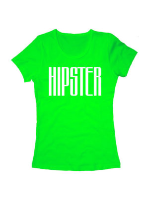 Футболка Hipster женская салатовая