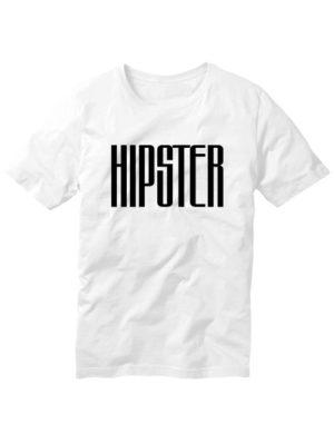 Футболка Hipster мужская белая