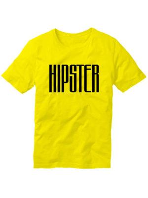 Футболка Hipster мужская желтая