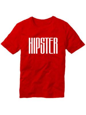 Футболка Hipster мужская красная
