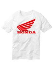 Футболка Honda белая