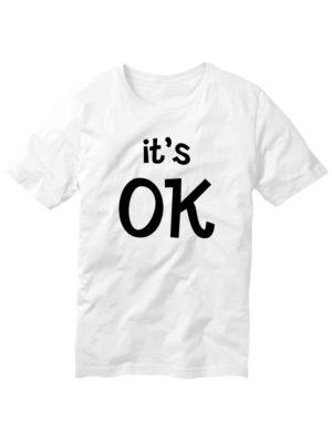 Футболка It's OK белая