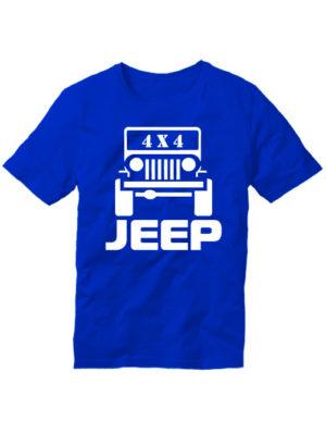 Футболка Jeep 4x4 синяя