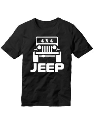 Футболка Jeep 4x4 черная