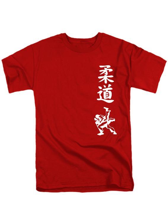 Футболка Judo красная