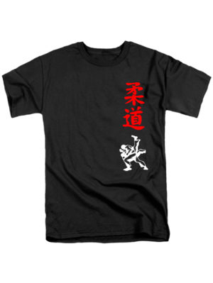 Футболка Judo черная