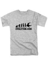 Футболка Judo Evolution серая
